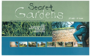 Art Project - 'Secret Gardens' | 27 May - 17 June 2000 (flyer p1)