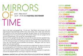 Kunstproject - 'MIRRORS of TIME' | 24 juli - 27 september 2020 (flyer p2)