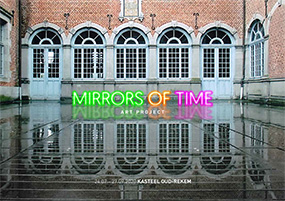 Kunstproject - 'MIRRORS of TIME' | 24 juli - 27 september 2020 (flyer p1)